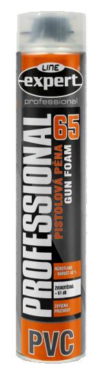 Pistolová pěna 65 PVC EXPERT LINE Professional